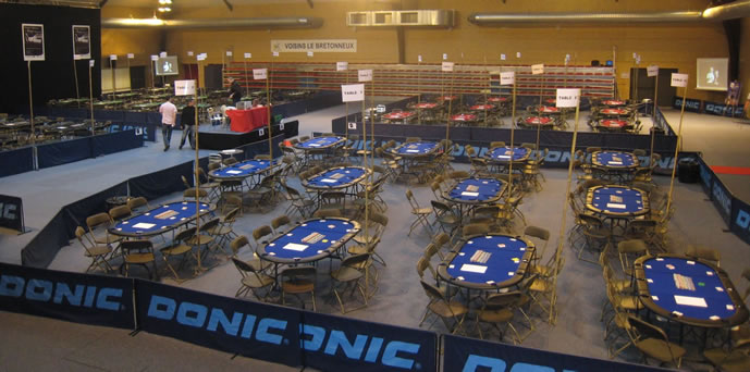 TOURNOI DE POKER TABLE